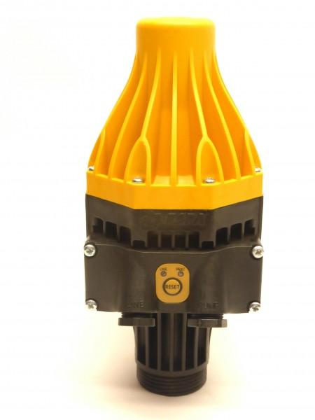 Gehäuse KIT Pressdrive kompett montiert mit Membane und innenliegender Feder (unter der Kappe), jedoch ohne Anbauteile wie Platine und Manometer.