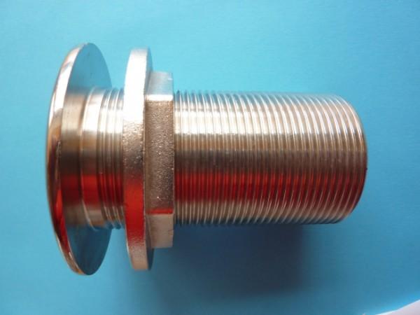 Behälterverschraubung 1 Zoll in Edelstahl A4-AISI 316 (sA)