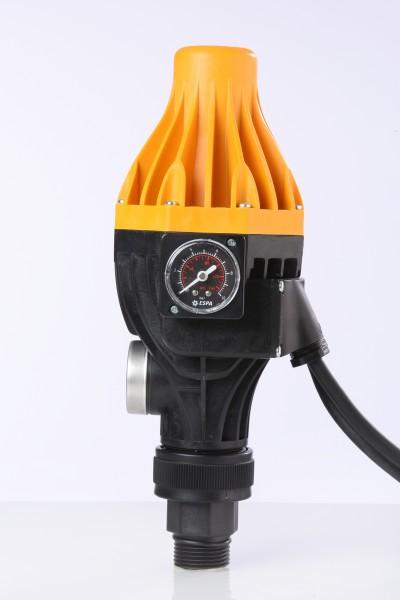 Druckregelautomat Espa KIT Pressdive zum automatischen Ein- und Ausschalten von Pumpen, mit Manometer und Anschlussverschraubung, Einschaltdruck einstellbar- Espa bewährte Qualität - 2 Jahre Garantie