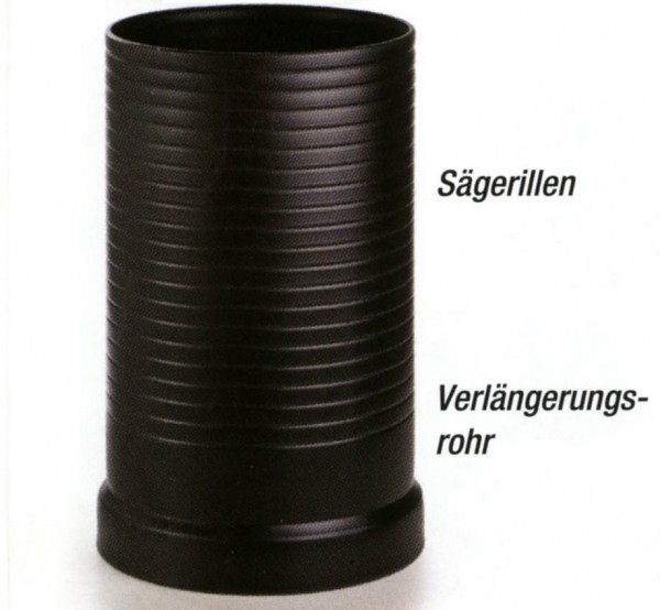 Verlängerungsrohr für Wirbel-Fein-Filter