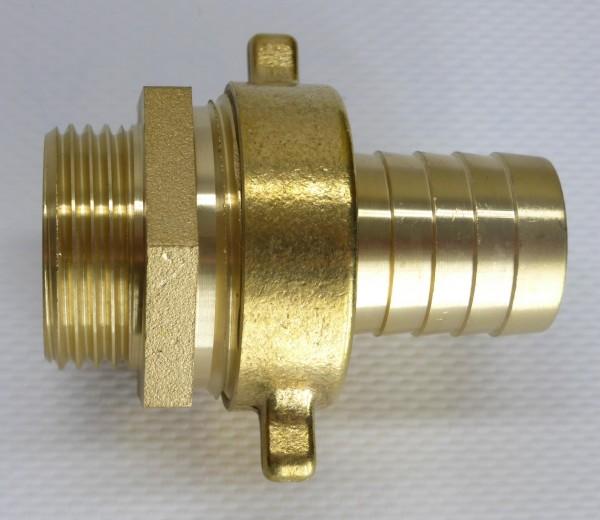 Messing Verschraubung für Pumpen 1 Zoll
