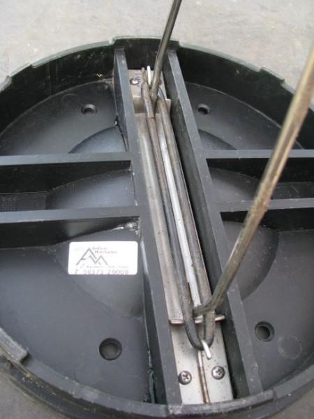Befestigungsset für Aushebebügel des Wirbel-Fein-Filter