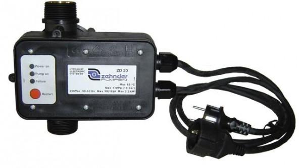 Druckregelautomat ZD 20 für leistungsstarke Pumpen
