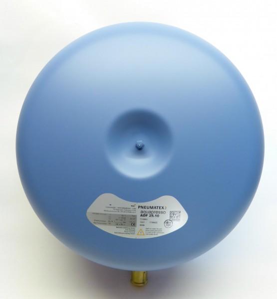 Membran-Ausdehnungsgefäss 25 Liter voll durchströmt für Regenwasser und Trinkwasser