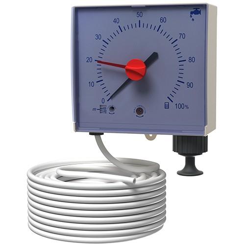 Pneumatische Füllstandsanzeige (PFA) für Regenwasserbehälter und Zisternen