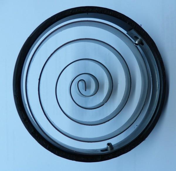 Kleintierschutz für Rohr DN100 (DN110), spiralförmig