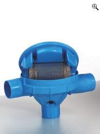 Sinusfilter zum Regenspeichereinbau für 150 m2 Dachfläche, 0,0 mm Höhenversatz
