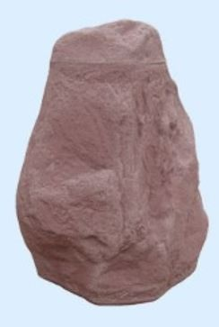 Hinkelstein Regenspeicher 230 Liter, Farbe granitrot