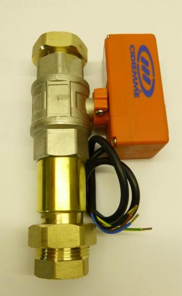 Motor-Kugelventil für Nachspeisemodul TEA, TWN und TEO