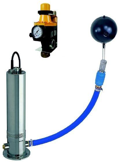 Unterwasser-Kreiselpumpen Combipress 07-6 mit KIT Pressdrive