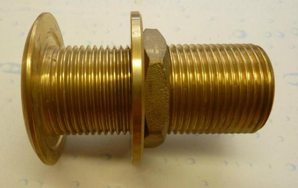 Behälterverschraubung 1 Zoll in Messing (sA)