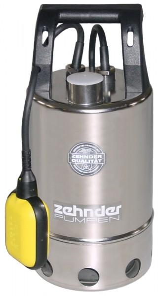 Schmutzwasserpumpe in Edelstahl mit Magnetkupplung E-ZWM