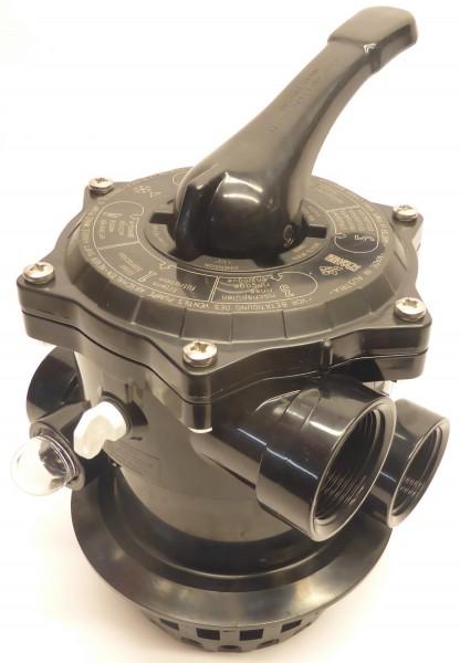 Ventil Ocean V6 TM12-S für Filteranlagen, Rückspülventil Top Mount 3D