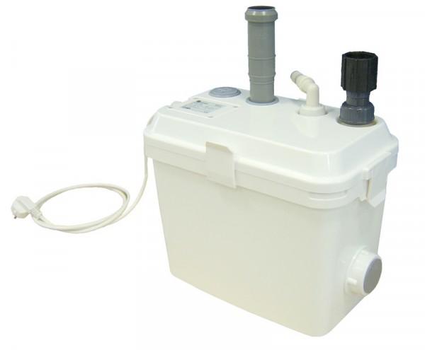 Schmutzwasserhebeanlage SWH 100, steckerfertig montiert