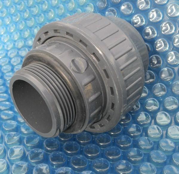Ideal zum direkten Anschluss an Pumpen und Ventile.