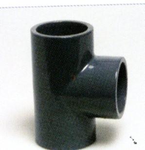 PVC - T-Stück mit 3 x Klebemuffe 50mm für PVC Rohr 50mm