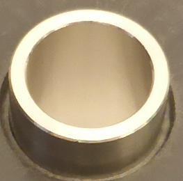 Buchse eingebaut in Leitrad passend bei ASPRI 25-5, Tecnoself 25-5 und Tecnopres 25-5 (