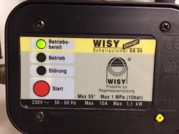 Druckregler KIT SA04, Schaltautomat Wisy Concept