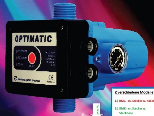 Druckregelautomat KIT Optimatic RMC - Schutzklasse IP65