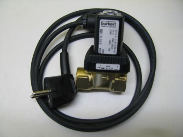 Magnetventil mit 1 Zoll IG aus Messing 230V für Hybrid Anlagen, Systeme