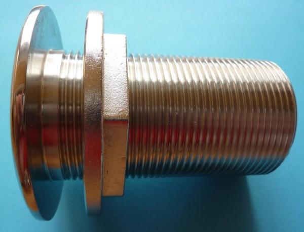 Behälterverschraubung 5/4 Zoll in Edelstahl A4-AISI 316 (sA)