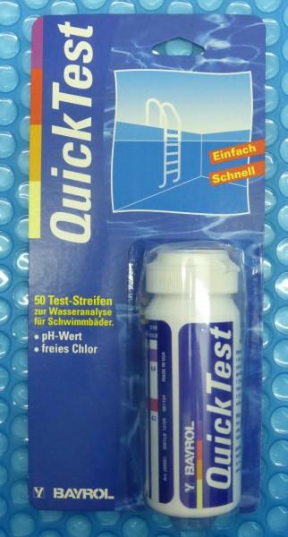 Quick Test für Chlor und pH Wert