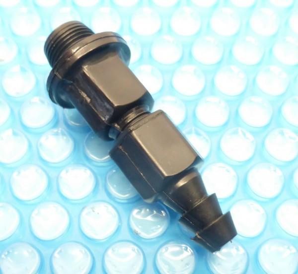 Entleerungsventil mit Schlauchtülle für Schlauchanschluß, Auslassventil für Sandfilteranlage mit Außengewinde, bestehend aus drei Teilen,
