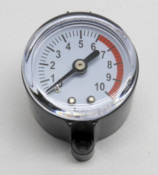 Manometer für Druckregler, Presscontrol SA 06 (V), Zeta 02 (V), Controlmatic (E) und SARW06