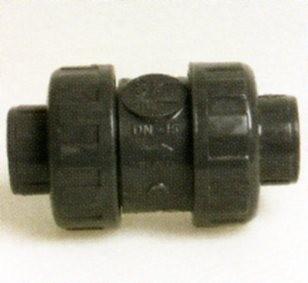 PVC - Rückschlagventil 50mm - Kegelrückschlagventil für PVC Rohr
