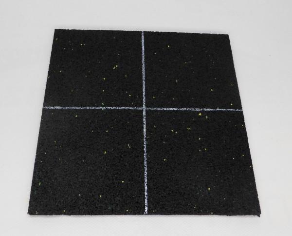 Schallschutzmatte 8 mm dick geeignet als Antirutschmatte, Lärmschutz, Vibrationsschutz bei Schwimmba