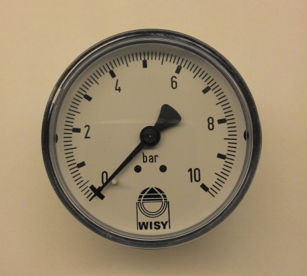 Manometer 0-10 Bar für Wisy Concept Front