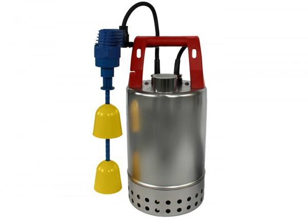 Schmutzwasserpumpe in Edelstahl mit Magnetkupplung E-ZWM, Ausführung KS für Schacht Durchmesser ab 2