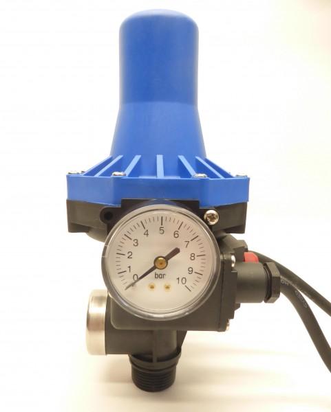 Druckregelautomat KIT 02-4 mit blauen Hut, Kappe