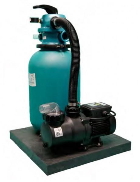 Sandfilteranlage AquaNox 300 für Beckenvolumen 2,5 m3 - 15 m3 mit Schlauchanschluss