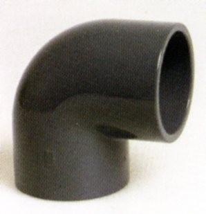 PVC - Winkel 90 Grad mit Klebemuffe 50mm für PVC Rohr 50mm