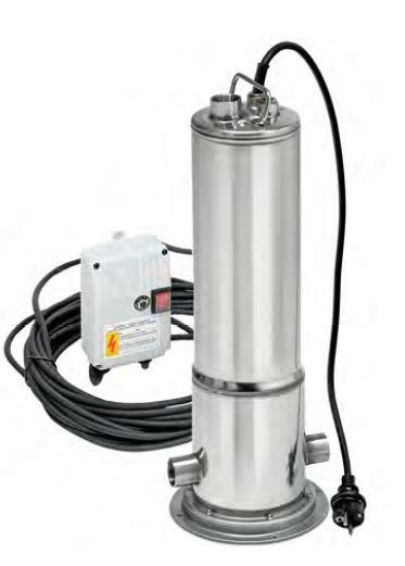 Unterwasser-Kreiselpumpen Combipress5-60 alternative für Rainsub07