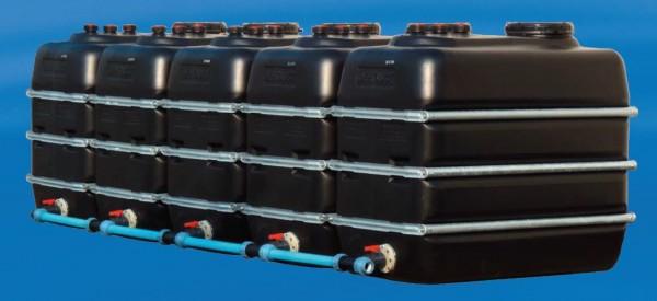 Kunststoff Regenspeicher Erweiterungstank 2.000 Liter